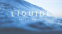 Free Font: Liquide