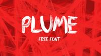 Free Font: Plume
