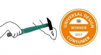 Philipp Ziebart erhält den Universal Design Consumer Award